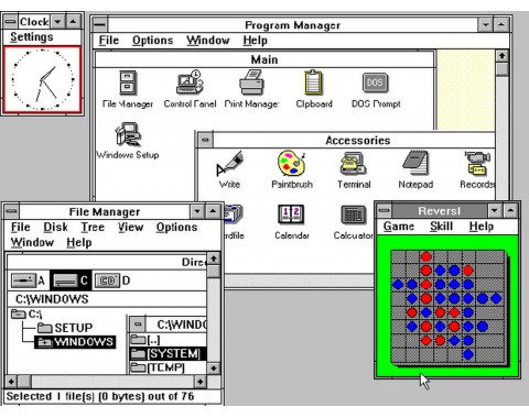30 Jahre Windows in Bildern: 1990