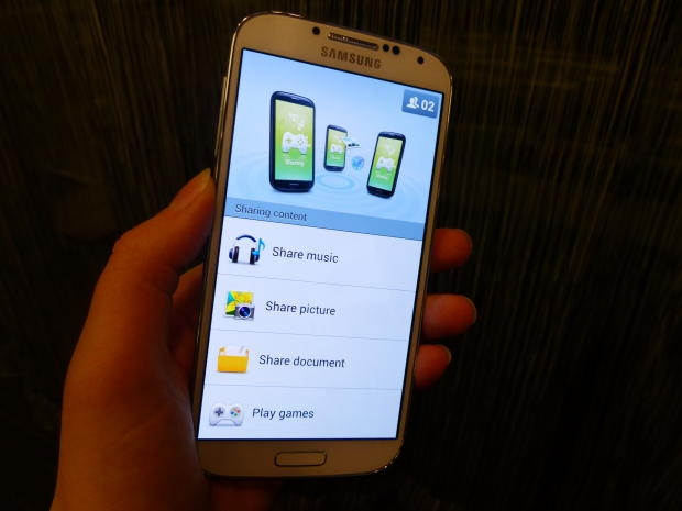 Hands-on: Galaxy S4 Group Play im Detail