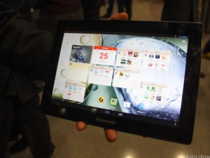 MWC: IdeaTab S6000, A1000 und A3000 – Lenovos neues Android-Tablet-Trio