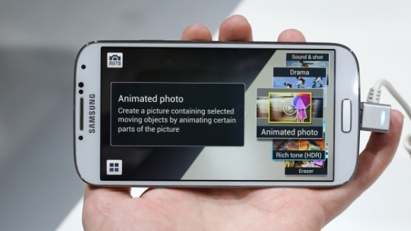 Galaxy S4: Animierte Fotos (Foto: CNET UK)