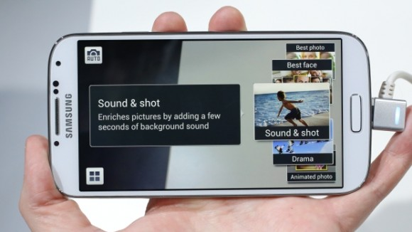 Galaxy S4: Sound & Shot (Foto: CNET UK)