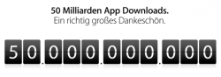 Apple App-Store: 50 Milliarden