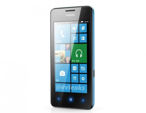 Ascend W2: Neues Windows-Phone von Huawei im Netz gesichtet (Bild: @evleaks via CNET UK)