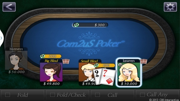A bunch of people can play games over Group Play, like poker, while sitting in the same room.