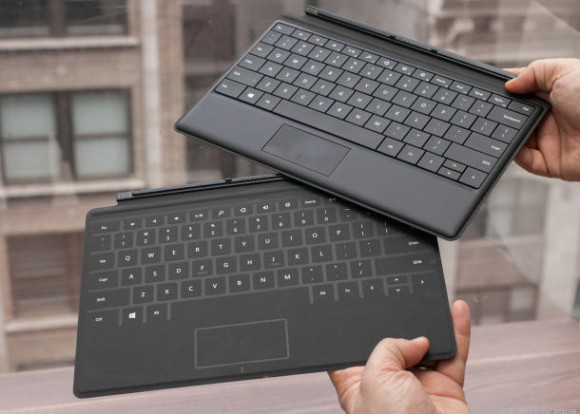 Microsoft Surface Pro: Touch- & Type-Cover