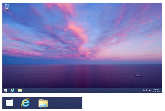 Windows 8.1: Startbutton zeigt sich in Vorabversion von Windows Blue (Screenshot: Paul Thurrott)