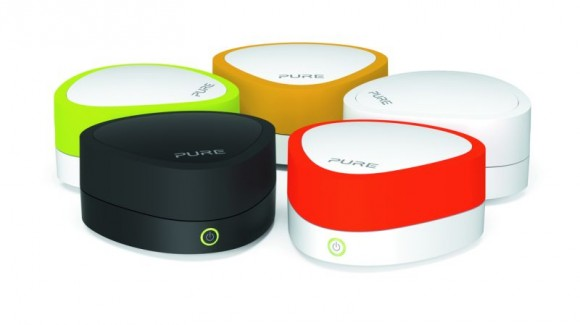 Bluetooth-Streaming-Adapter Jongo A2 von Pure (Bild: Pure)