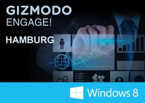 GizmodoENGAGE-Tour 2013: Windows 8 am 20. Juni in Hamburg ausprobieren