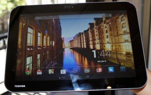 Toshiba Excite Pure, Pro und Write: Tablet-Notebook-Kombis mit Tegra-4, Digitizer und Android (Bild: CNET.com)