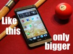 HTC One Phablet T6: 5,9-Zoll-Full-HD-Display, Snapdragon 800 und microSD-Kartenslot?