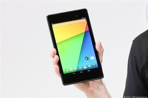 Nexus 7: Googles neues Android-Tablet hat auch Probleme mit Multitouch-Gesten (Bild: CNET.com)