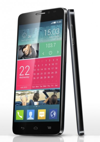 One Touch Idol X: Alcatel stellt Dual-SIM-Smartphone mit Android vor (Bild: Alcatel)