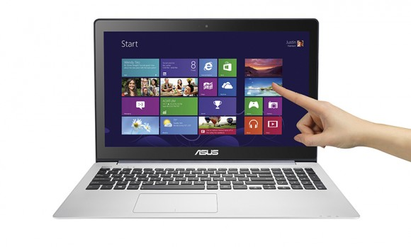 Asus VivoBook S551LB: 15,6-Zoll-Notebook mit Intel-Haswell-CPU (Bild: Asus)