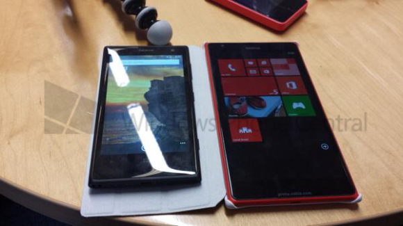 Lumia 1520: Foto zeigt Nokias kommendes 6-Zoll-Windows-Phone-Phablet Bandit (Bild: Windows Phone Central)