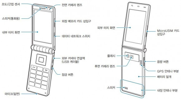 "Samsung-Klapphandy ""Galaxy Folder"" mit Android"