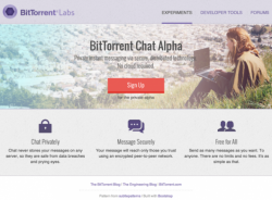 Bittorrent Chat