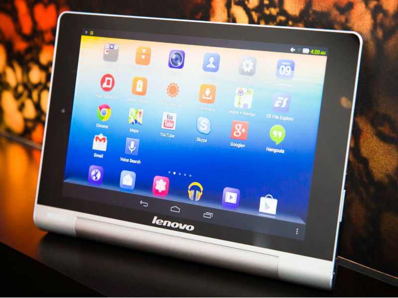 lenovo yoga serie wird um 8 und 10 1 zoll tablets mit. Black Bedroom Furniture Sets. Home Design Ideas