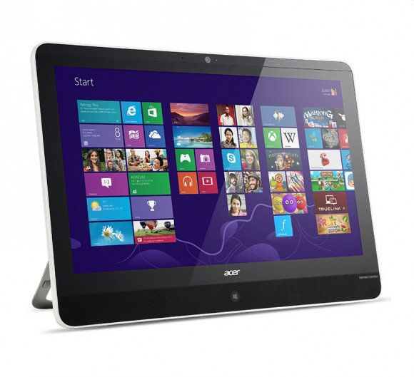 Aspire Z3-600: Acer kündigt 22-Zoll-All-in-One-Tablet-PC-Hybrid mit Microsoft Windows 8 an