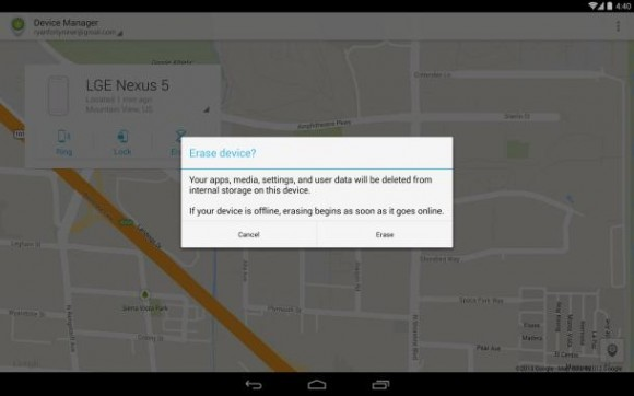 Android Device Manager: Ab sofort als App im Play Store verfügbar