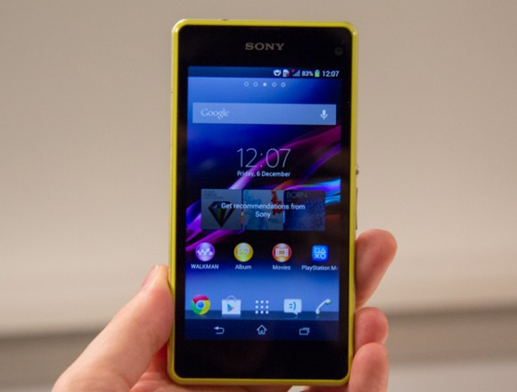 Xperia Z1 Compact: Sony kündigt Mini-Version des Android-Smartphones Xperia Z1 für Europa an