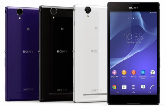 Sony stellt Mittelklasse-Android-Phablet Xperia T2 Ultra vor