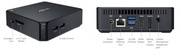 Asus Chromebox: Mini-Desktop-PC mit Chrome OS vorgestellt