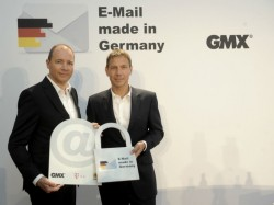"E-Mail made in Germany"" im August 2013 (Bild: Deutsche Telekom)"
