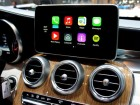 Galerie: Apple CarPlay in der C-Klasse von Mercedes Benz