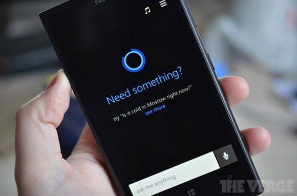 Microsoft Windows Phone 8.1 soll mit Siri-Konkurrent Cortana kommen