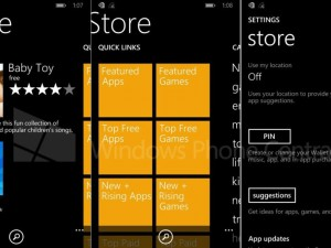 Microsoft Windows Phone 8.1: Screenshots zeigen neuen App Store