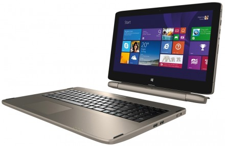 Medion Akoya S6214T: 15,6-Zoll-Notebook-Tablet-PC-Kombi mit Windows 8.1 ab morgen bei Aldi
