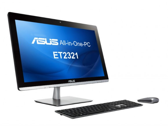 All-in-One-PC Asus ET2321: 23-Zoll-FHD-Display und Intel-Haswell-Prozessor