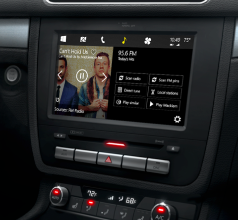 Microsoft Windows for Cars: Konkurrenz zu Apples CarPlay