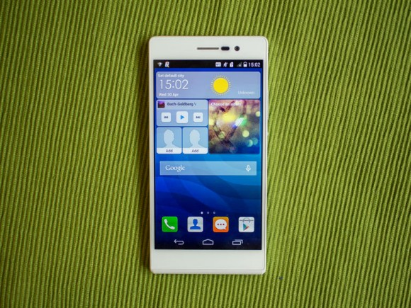Android-Smartphone Huawei Ascend P7 offiziell vorgestellt