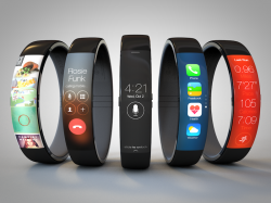 Mock-ups von Apples iWatch (Bild: Todd Hamilton via CNET.com)