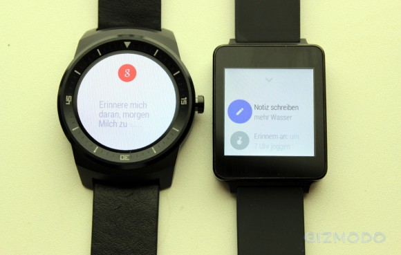 G Watch R: LGs runde Android-Wear-Watch im Hands-on