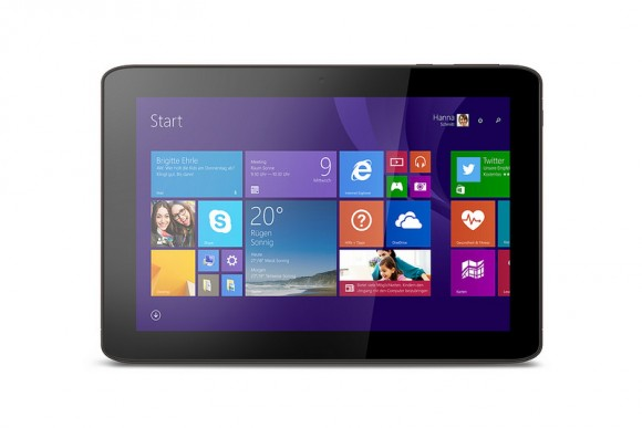 Medion Akoya E1233T: 10,1-Zoll-Full-HD-Tablet mit Intel-CPU und Windows 8.1