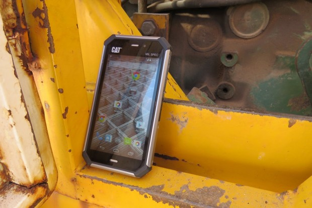 Bullit Mobile Cat S50 (Bild: Bullit Mobile).
