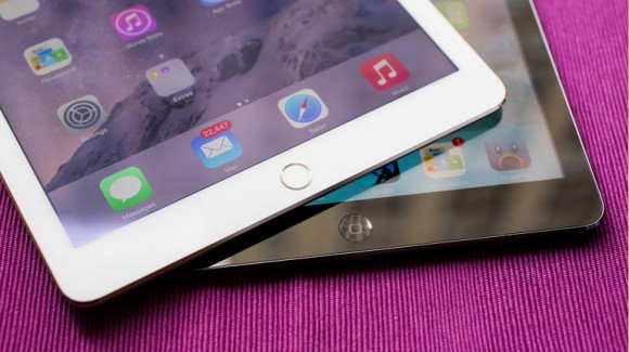 Apple iPad Air 2 (oben), iPad Air (unten) (Bild: CNET)