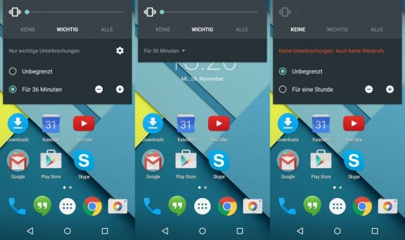 Android 5.0 (Bild: CNET).