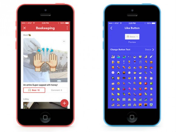 Facebook Rooms auf dem iPhone (Bild: Facebook)