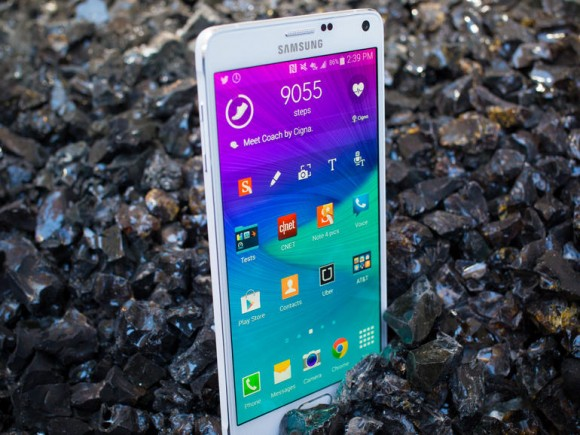Samsung Galaxy Note 4 (Foto: CNET).