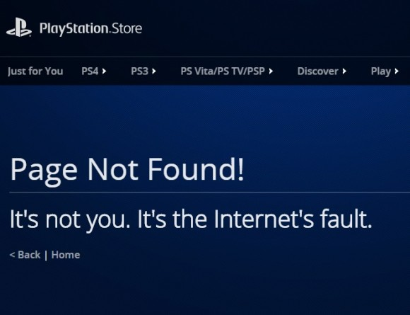 Sony PS Store (Screenshot: CNET).