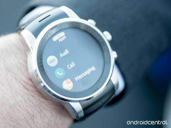 LG Audi-Watch (Foto: Android Central).