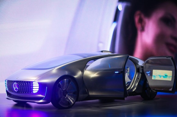 Mercedes Benz F 015 (Bild: CNET).