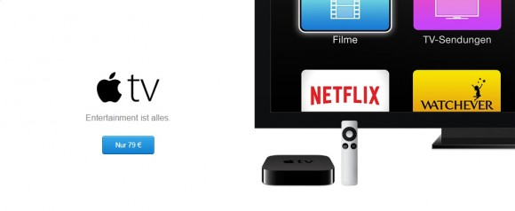 Apple TV (Screenshot: CNET).