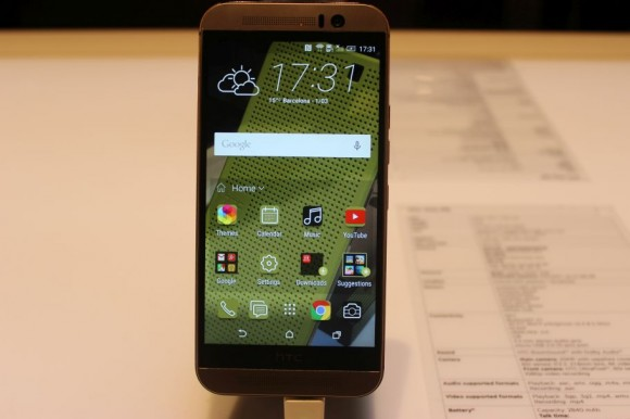 HTC One M9 (Bild: CNET).