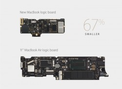 Macbook 12 Zoll: Logicboard (Bild: Apple)