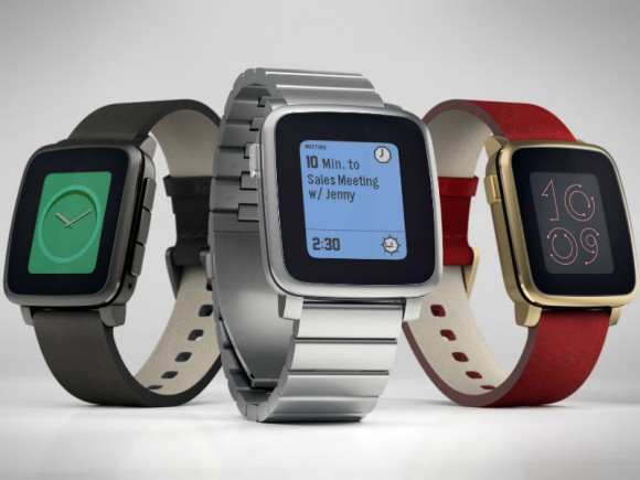 Pebble Time Steel (Bild: Pebble)