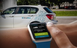DriveNow-App für die Apple Watch (Foto: DriveNow)